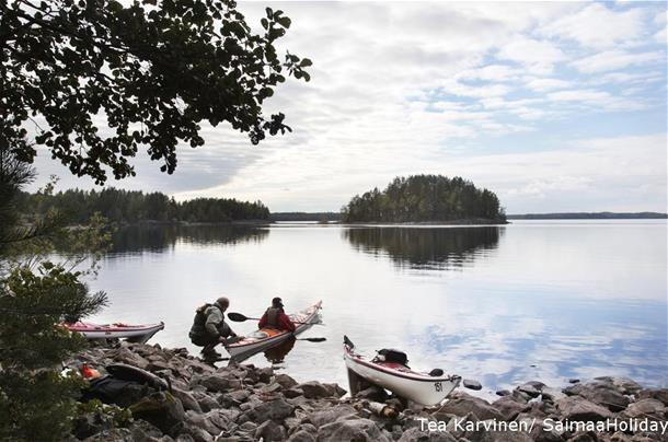2 Day Kayaking tour in Linnansaari